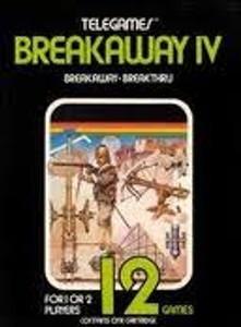 Breakaway IV (4)- Atari 2600 Game