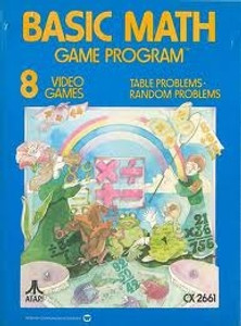 Basic Math - Atari 2600 Game