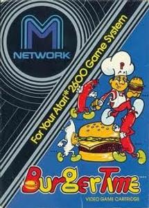 Burgertime - Atari 2600 Game