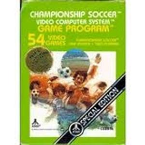 Championship Soccer - Atari 2600 Game