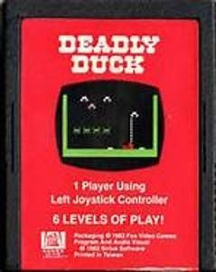 Deadly Duck - Atari 2600 Game