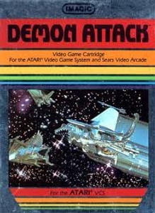 Demon Attack - Atari 2600 Game