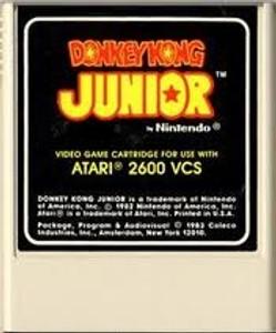 Donkey Kong Jr - Atari 2600 Game