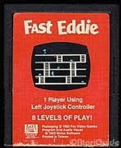 Fast Eddie - Atari 2600 Game