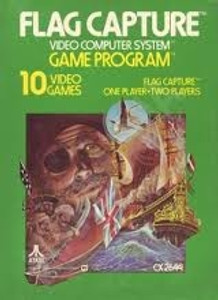 Flag Capture - Atari 2600 Game