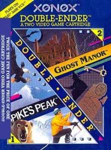 Ghost Manor / Spike's Peak - Atari 2600 Game Double Ender