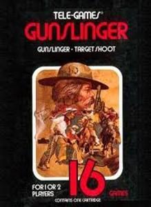 Gunslinger - Atari 2600 Game
