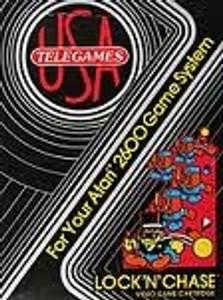 Lock 'N' Chase - Atari 2600 Game
