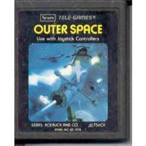 Outer Space - Atari 2600 Game