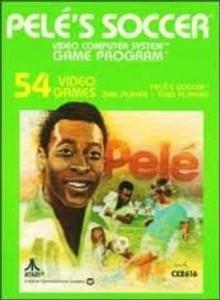 Pele's Soccer - Atari 2600 Game