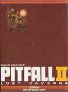 Pitfall II Lost Caverns - Atari 2600 Game