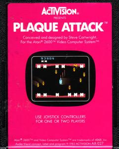 Plaque Attack - Atari 2600 Game