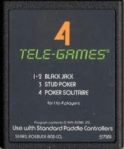 Poker Plus - Atari 2600 Game