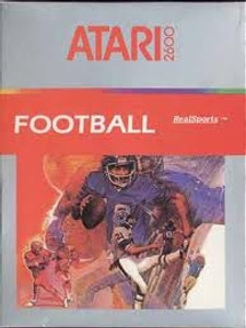 Real Sports Football - Atari 2600 Game