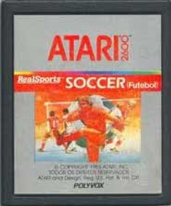 Real Sports Soccer - Atari 2600 Game