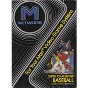 Super Challenge Baseball - Atari 2600 Game