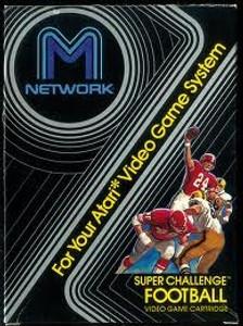 Super Challenge Football - Atari 2600 Game