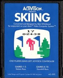 Skiing - Atari 2600 Game