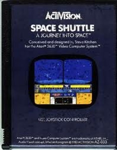 Space Shuttle A Journey Into Space - Atari 2600 Game