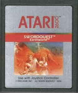 Swordquest Earth World - Atari 2600 Game