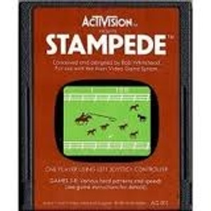 Stampede - Atari 2600 Game