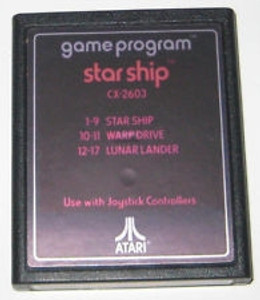 Star Ship - Atari 2600 Game