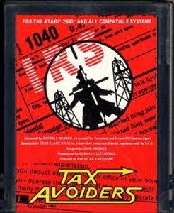 Tax Avoiders - Atari 2600 Game