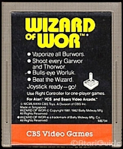 Wizard of Wor - Atari 2600 Game