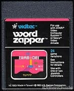Word Zapper - Atari 2600 Game