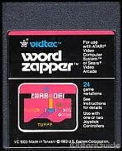 Word Zapper - Atari 2600 Game