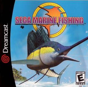 Sega Marine Fishing  - Dreamcast Game