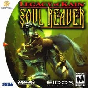 Legacy of Kain Soul Reaver - Dreamcast Game