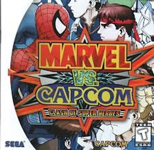 Marvel Vs. Capcom - Dreamcast Game