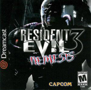 Resident Evil 3 Nemesis - Dreamcast Game