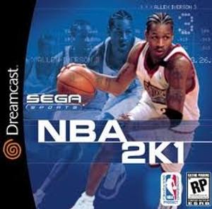 NBA 2K1 Basketball  - Dreamcast Game