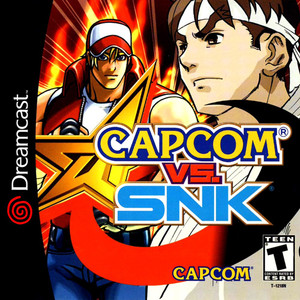 Capcom Vs. SNK - Dreamcast Game