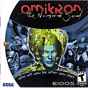 Omikron The Nomad Soul - Dreamcast Game