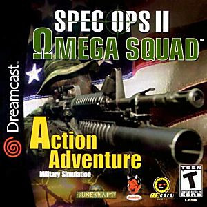 Spec Ops II 2 Omega Squad - Dreamcast Game