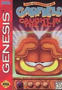 Garfield Caught in The Act - Genesis Game