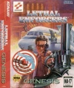 Lethal Enforcers - Genesis Game