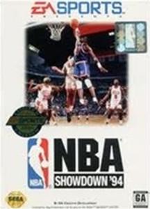 NBA Showdown 94 - Genesis Game