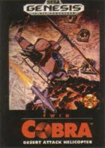 Twin Cobra - Genesis Game