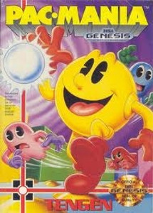 Pac-Mania - Genesis Game