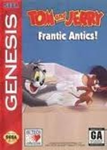 Tom and Jerry Frantic Antics - Genesis Game