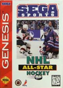 NHL All Star Hockey 95 - Genesis Game