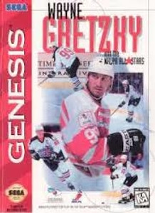 Wayne Gretzky NHLPA All Stars - Genesis Game