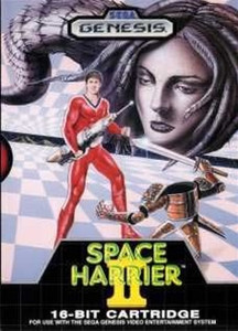 Space Harrier II - Genesis Game