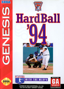 Hardball 94 - Genesis Game