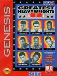 Greatest Heavyweights - Genesis Game