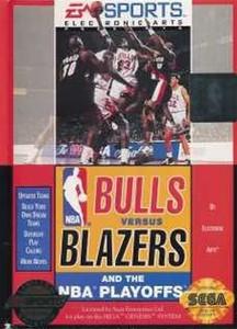 Bulls vs Blazers NBA Playoffs - Genesis Game